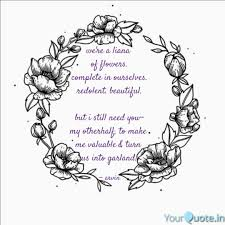 we re a liana of flowers quotes writings by arvin stark