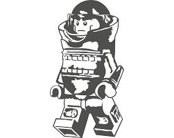 Lego Eod Bombsuit Minifig Vinyl Decal Vinyl Decals Vinyl Minifig