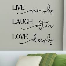 Winston Porter Tutuala Live Laugh Love Bellwethers Wall Decal Wayfair