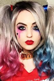 make up of harley quinn 18 photos