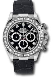 pre owned rolex daytona white gold