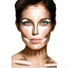 makeup tips contours and highlights