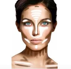 makeup tips contours and highlights