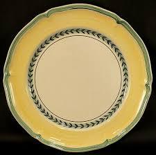 boch french garden vienne dinner plate