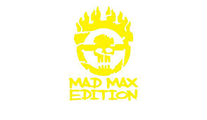 Amazon Com Fury Road Inspired Mad Max Edition Grunged War Boy Logo Tall Design Die Cut Vinyl Decal Medium Yellow Automotive
