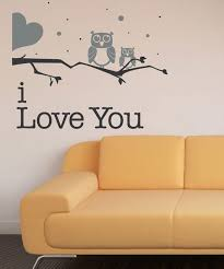 Sissy Little Black Gray Owl Love You Wall Decal Best Price And Reviews Zulily