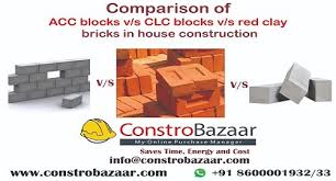 clc blocks v s red clay bricks