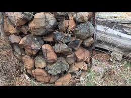 What Is A Stone Crib Fence Corner Posts With No Digging Also How To Make One Youtube