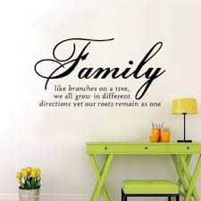 Free Family Like Branches On A Tree Quotes Vinyl Wall Sticker Decal Home Decor Home Decor Listia Com Auctions For Free Stuff