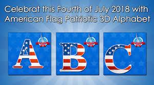 th dp maker american flag theme alphabet aplikasi di