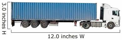 European Flatbed 18 Wheeler With Wall Decal Wallmonkeys Com