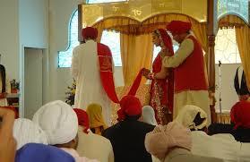 sikh wedding anand karaj rituals