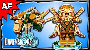Lego Dimensions Ninjago LLOYD Golden Ninja & Dragon Fun Pack 3-in ...