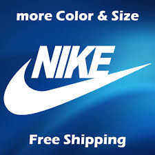 Nike Swoosh Air Logo Name Decal Window Laptop Bumper Skateboard Sticker Decals 2 25 Picclick