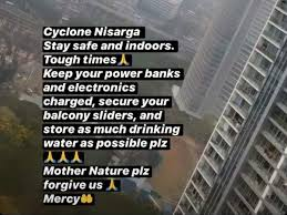 Cyclone Nisarga: Hina Khan pleads for ...