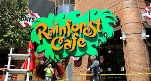 rainforest cafe gets signed buffalo