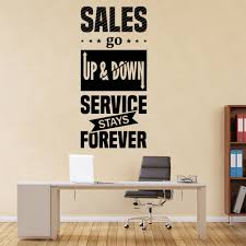 Service Stays Forever Office Quote Wall Decal Sticker Ws 46128 Ebay