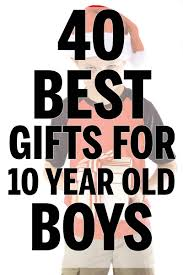 40 best gifts for 10 year old boys