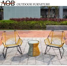 garden chair coffee round table