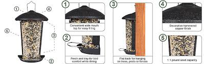 Perky Pet Wall And Post Mount Feeder Model 101 5 Perkypet Com