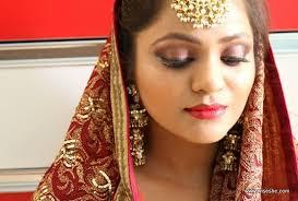 indian south asian bridal makeup