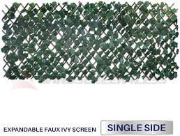 Windscreen4less Artificial Leaf Faux Ivy Expandable Stretchable Privacy Fence Screen Single Sided Leaves Buy Online At Best Price In Uae Amazon Ae