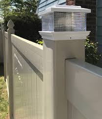 Solar Post Cap 4x4 And 5x5 Direct Fence Usa