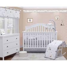 Zoomie Kids Rathburn Cute Fox Head Baby Nursery 5 Piece Crib Bedding Set Wayfair