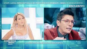 Le dichiarazioni di Imma Battaglia a Domenica Live - Grande Fratello VIP  Video