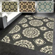 alluring area rugs rubber backed