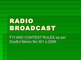 Image result for radio broadcast