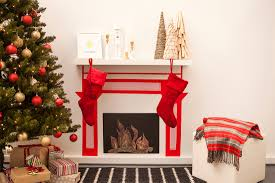 Scintillating Fireplace Wall Sticker Furnithom