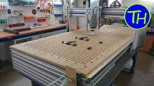 homemade cnc router with built in