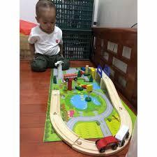 Bộ trò chơi lắp ghép giao thông bé nào... - Shop nhà Su - Pijama và đồ mặc  nhà cho bé