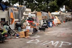 Oakland Will Close Street Behind Fruitvale Home Depot Where Rv Dwellers Park Sfchronicle Com