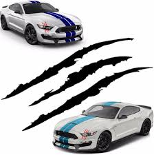 1555492379 38cm Car Vinyl Decal Eye Catching Sticker Claw Marks Decal Sticker For Car Headlamp Automobiles Motorcycles Exterior Accessories