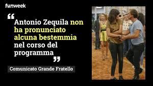 GF Vip interviene sulla bestemmia di Antonio Zequila: cosa è stato ...