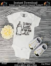 Baby Bottle Of Your House White Svg Funny Baby Shirt Milk Clip Art Dynamic Dimensions