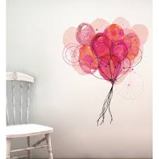 Carnival Balloons Wall Decal Temple Webster
