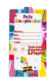 Tarjetas De Invitacion Feliz Cumpleanos Mister Pinatas