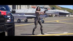 GTA 5 Crystal Reality Proyect Adriana Bell sexy military Mod 1080p 60fps -  YouTube