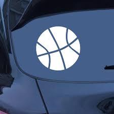 Car Sticker Basketball Sticker Car Decal Window Sticker Etsy