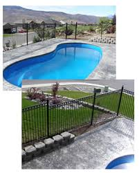 Pool Fences B O C A Guidelines For Pool Fences Galvanized Steel Swimming Pool Fences