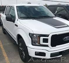 2015 2020 Ford F 150 Hood Stripes Special Ed Lead Foot 3m Decals Vinyl Graphics Ebay