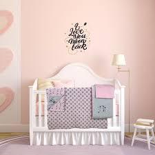 Levtex Baby Ely Pink 5pc Crib Bedding Set 100 Cotton For Sale Online Ebay