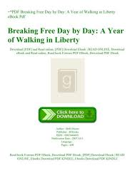 day a year of walking in liberty ebook pdf