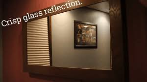 make a mirror tv fast easy