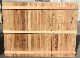 Cedar Fence Panels 1x4x6 For Sale Okc Oklahoma Lumber And Supply