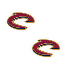 cleveland cavaliers post stud earring