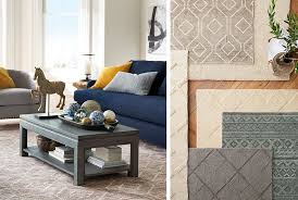 patterned rug with your furniture